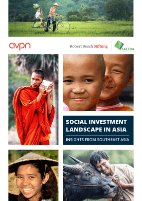 Social Investment Landscape in Asia: Insights from Southeast Asia