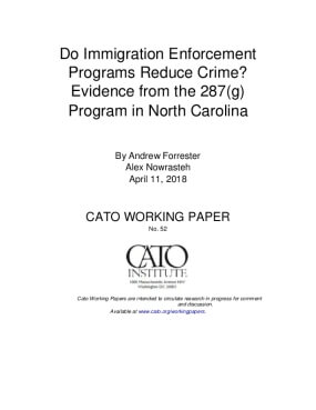 Do Immigration Enforcement Programs Reduce Crime? Evidence from the 287(g) Program in North Carolina
