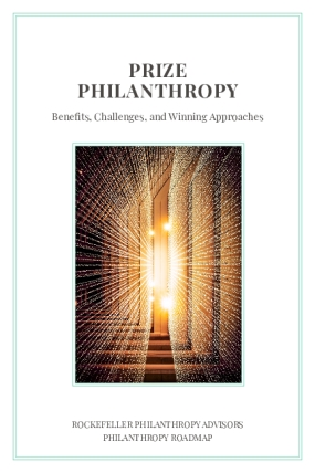 Prize Philanthropy: Benefits, Challenges, and Winning Approaches